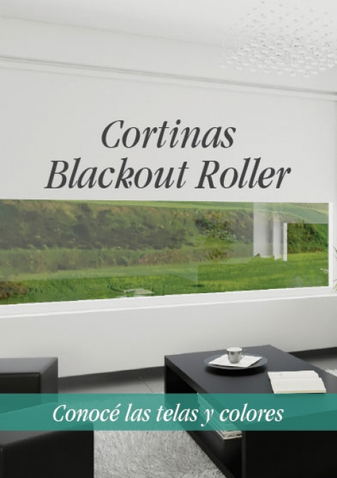 Cortinas Roller Blackout Dcortinas